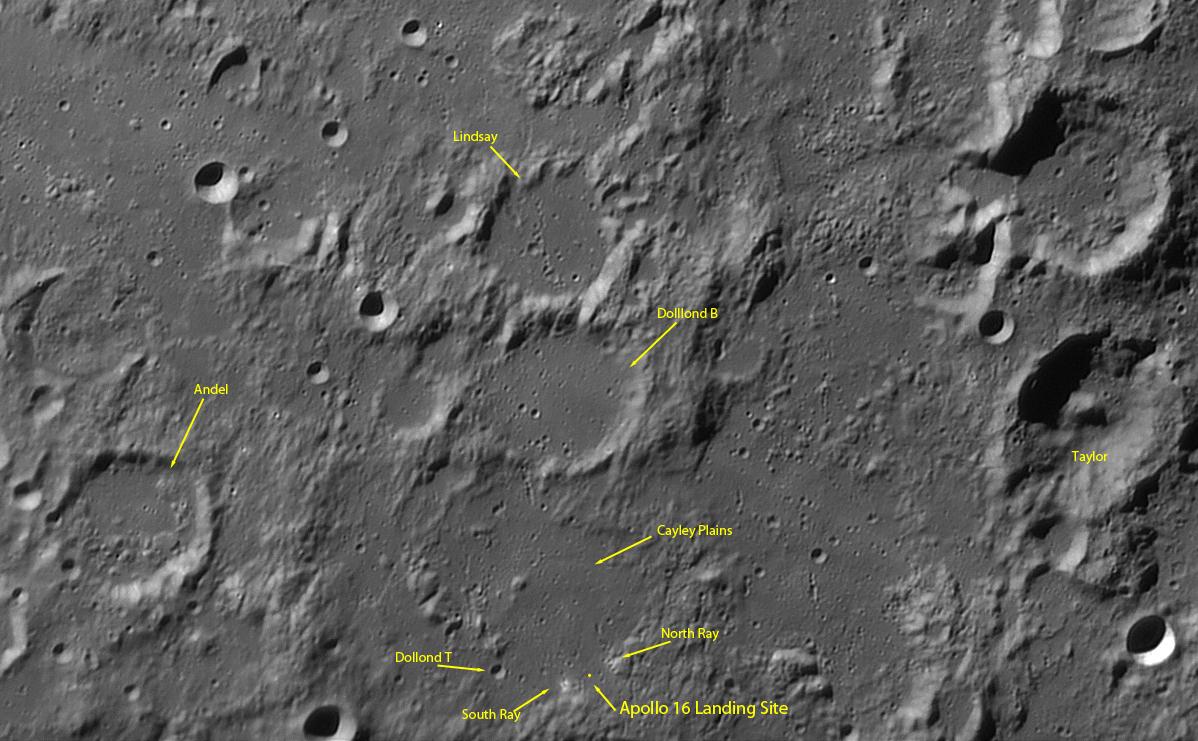 Apollo 16 Landing Site - Pics about space